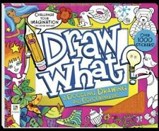 Draw What? a Doodling Drawing and Colouring Pad by Paperback Book