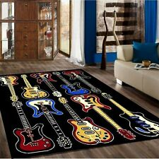 New Bedroom Fun Musical Theme Rugs Contemporary Carpet for Children / teen