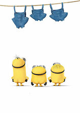 Minions Giant Poster Print - A0 A1 A2 A3 A4 Sizes Available