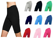 LADIES CYCLING COTTON LYCRA STRETCHY SHORT ACTIVE CASUAL SPORTS WOMENS LEGGINGS