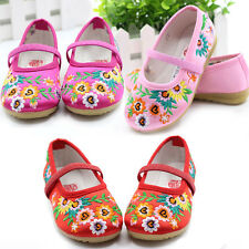 Children 2-9 years girl's The Old Beijing Cloth Shoes shallow Embroidered shoes