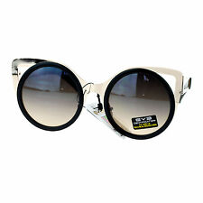 Super Cute Round Cateye Sunglasses Women's Fashion Shades