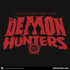 SUPERNATURAL Sam Dean Winchester Hunters Brothers Limited Ed. Mens T-Shirt M-2XL