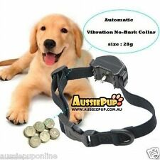 Automatic Safe VIBRATION Training Dog Anti Bark Collar NO SHOCK Stop Barking Pup