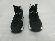 New! Nike Womens Zoom Hyperquickness Basketball Shoes-599515-001-Blk/Wht (G5)