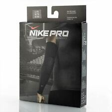 new S/M or L/XL nike pro combat padded elbow compression sleeve navy football