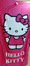 HELLO KITTY  GIRL  Shower Bath Beach Towel