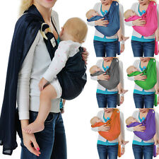 Baby Ring Sling Carrier Wrap Comfort Pouch Wrap Backpack Newborn Toddler