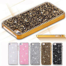 Glitter Bling Crystal Diamond Hard Back Case Cover Protector For iPhone 5 5S