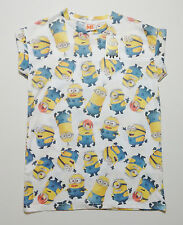 DESPICABLE ME MINIONS Womens T Shirt Top Primark UK 8,10,12