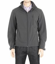 Hawke & Co Carbon Gray Water And Wind Resistant Jacket With Removable Hood