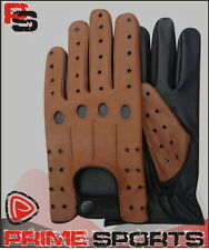 REAL SOFT LEATHER MEN'S TOP QUALITY DRIVING RIDING GLOVES