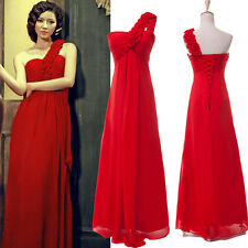Long Chiffon Cocktail Evening Formal Party Prom Gown Bridesmaid Dress Plus Size