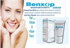 BENZOYL PEROXIDE FACE WASH 4% 50G FOR ANTI ACNE TREATMENT SPOT REDUCING CREAM
