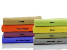 """1000 Thread Count 100%Egyptian Cotton """"Full Size"""" Bedding Items All New Colors"""