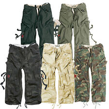 SURPLUS ENGINEERS VINTAGE ARMY MILITARY STYLE 3/4 MENS COMBAT CARGO SHORTS S-XXL