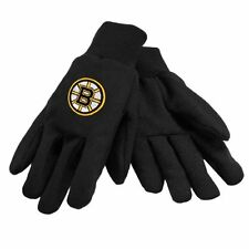 BOSTON BRUINS NHL BLACK SPORT UTILITY JERSEY ALL PURPOSE/WORK GLOVES
