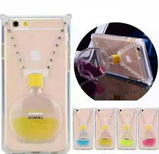 Perfume Bottle Phone Holder With Chain Case Cover For IPhone 4/4s 5/5s 6 6Plus
