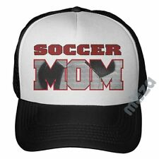 Soccer Mom Trucker Hat Futbol Cheer Mom Games Cap Baseball Curved Bill Xmas Gift