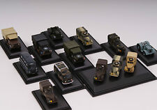 Oxford Military Diecast 1:76 Models Army: Jeep Truck Navy Austin Bedford Tractor