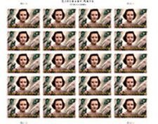 2015 IMPERF Flannery O'Connor Sheet of 20 From Uncut Press Sheet