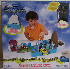 THE SMURFS ESCAPE FROM GARGAMEL 2 in 1 DELUXE PLAY SET