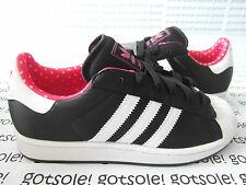 ADIDAS ORIGINALS SUPERSTAR 2 W BLACK/WHITE/PINK SHELLTOE ZEBRA LEOPARD G23588