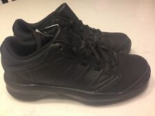New In Box Adidas Isolation Low Basketball Sneaker Shoe Kids Boys Black