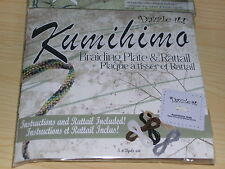 Kumihimo Braiding Kits by Dazzle it-Complete with Disc Instructions & Rattail