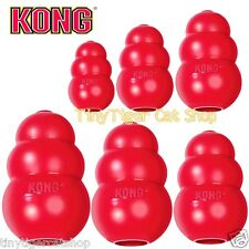 KONG CLASSIC Red Dog Toy xsmall small medium large XL treat rubber LARGE 9.99