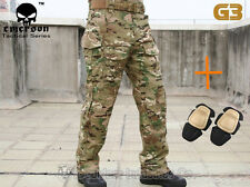 Airsoft Emerson G3 Combat Pants w/ Knee Pads Military Tactical MultiCam EM8527