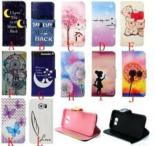 Wallet Stand Flip Slim Magnetic Leather Case Cover For iPhone 6 Sony M4 Z4 C4
