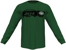 New York Jets Mens Long Sleeve Synthetic Storm Shirt Green Big & Tall Sizes