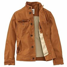 Timberland Men's Brookfield Mountain Orange Coat Jacket Style #6839J