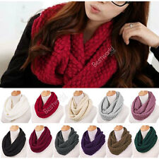 Fashion Soft Pullover Chunky  Headscarf  Neckwarmer Hood Cowl Scarf New