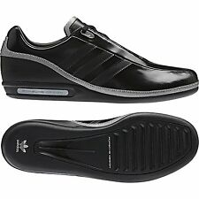 NUOVO Adidas Originals Porsche Design SP1 NERO MENS LEATHER formatori
