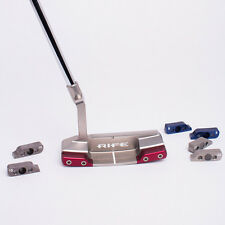 New LH LEFT HANDED Guerin Rife SwitchBack Putter Choose Your Length Switch back