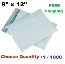 9x12 Poly Mailers Shipping Envelopes Self Sealing Plastic Mailing Bag Size <1000