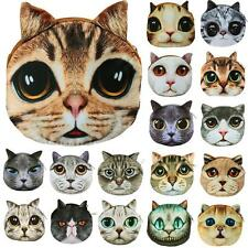Women Animal Face Card Case Coin Purse Wallet Makeup Bag Pouch Clutch Money Bags