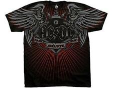 OFFICIAL LICENSED - AC/DC - SALUTE T SHIRT ROCK METAL ANGUS