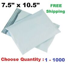7.5x10.5 Poly Mailers Shipping Envelopes Self Sealing Plastic Mailing Bags  1000