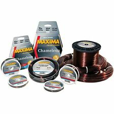 Maxima Chameleon One Shot Filler Spools Fishing Line - Breaking strain 2lb-20lb
