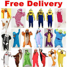 Hot Kigurumi Pajamas Animal Cosplay Costume Unisex Adult Onesie Sleepwear