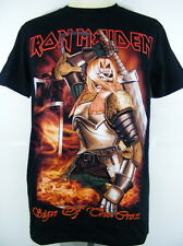 T-Shirt Rock Band Music Iron Maiden Sign of the Cross Screen New
