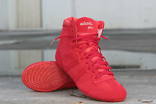 ADONIS.GEAR- RED LIGHT, SHOES, GYM, HIGH TOPS, BODYBUILDING, WRESTLING, RED