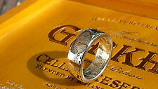 Silver Coin Rings Made from US Half Dollar Coins in size 8-14 (1965-1969)