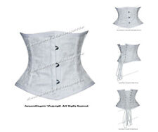 12 Double Steel Boned Waist Training Brocade Underbust Corset #8079-G-DB(BRO)
