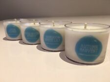 Aussie Handmade Large Soy Tealight Candle 9 hrs 4 pack Aromatics. RELAX.inspire.