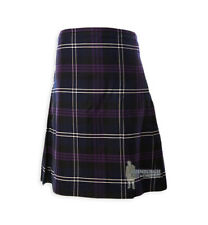 MENS SCOTTISH TARTAN DELUXE  8YD FULL KILT - HERITAGE SCOTLAND - RANGE OF SIZES!