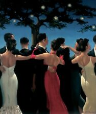 Jack Vettriano - Waltzers - Limited Edition Print - Signed 34,3x41cm